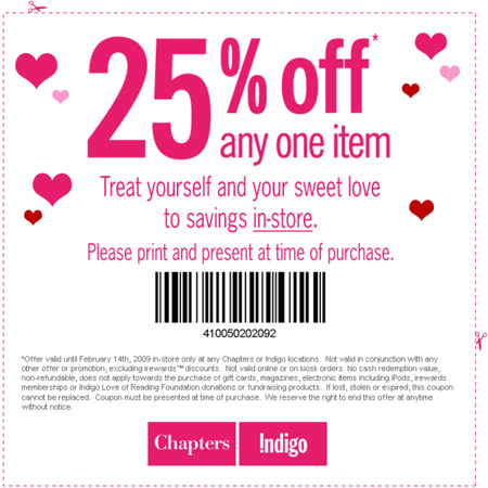 Indigo coupon code