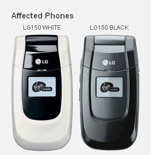Lg 150 Virgin Handy