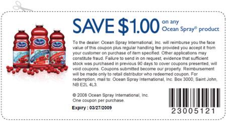 Ocean Spray Canada