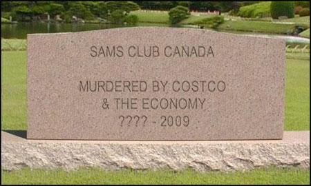 Sam's Club Canada RIP