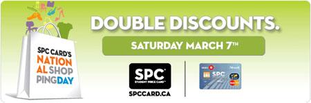 SPC Card Double Discounts