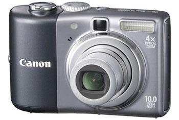 Canon PowerShot A1000 IS Gray 10.0 MP 4X Zoom Digital Camera
