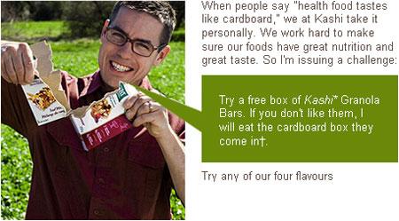 Kashi Free Granola Bars