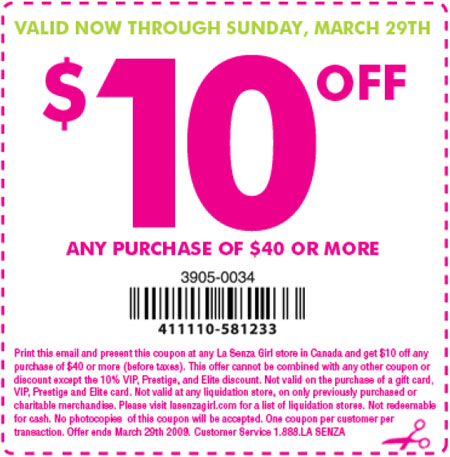 The la shop discount coupon