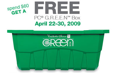 Free Green Box Canada