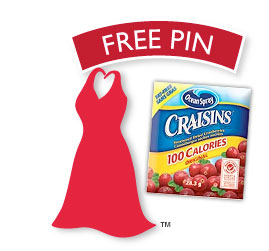Ocean Spray Free Pin Canada