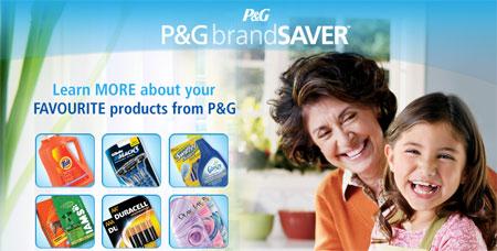 P&G Canada Brandsaver Coupons