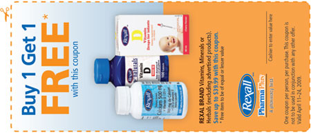 Rexall PharmaPlus Canada Coupons