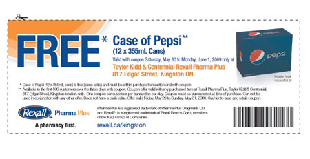 Pepsi coupons may 2019