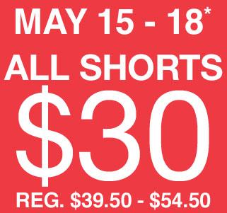 GAP Canada Shorts