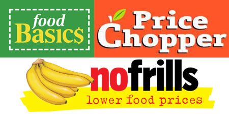 No Frills Vs Food Basics Vs Price Chopper Low Price Report Canadian Freebies Coupons Deals Bargains Flyers Contests Canada