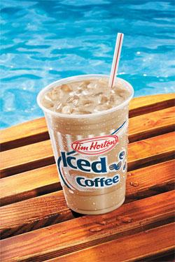 Free Tim Hortons Iced Coffee