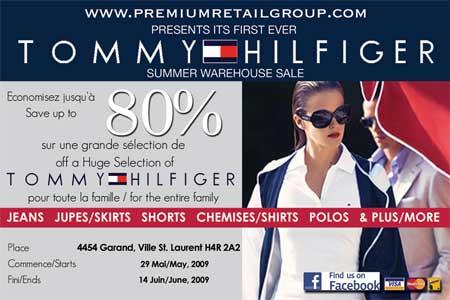 Tommy Hilfiger Quebec Warehouse Sale