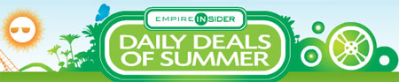 Empire Theatres Summer Daily Deals