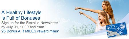 Rexall Air Miles Canada