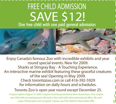 Toronto Zoo Coupon