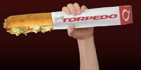 Quiznos Torpedo Canada