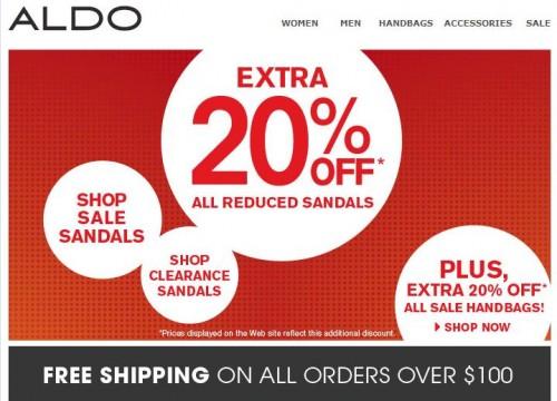 Aldo bags coupons