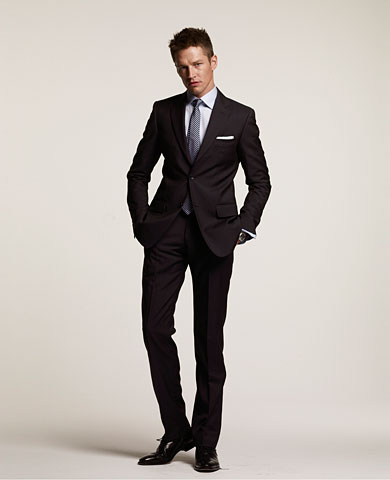 sale on selected men's designer suits. This is an instore promotion.