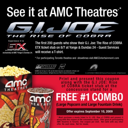 picture about Amc Printable Tickets titled Amc theatres canada / Atlanta most recent golf equipment