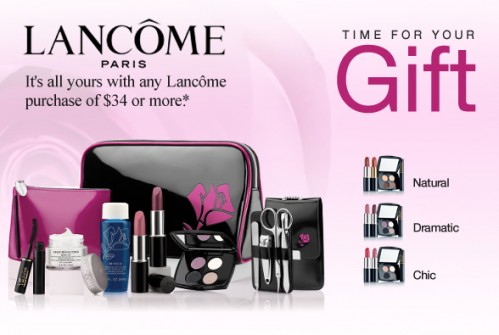 Canadian Deals – Sears Free Lancome Gift With $34 Purchase ...