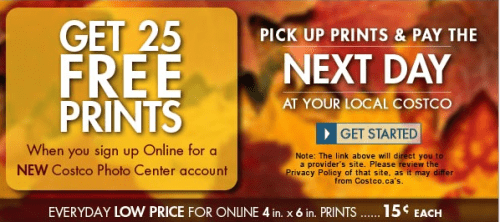 Costco photo center coupon code