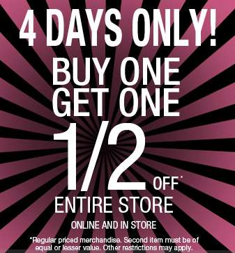 At Suzy Shier in-store and online, you get now get Buy One, Get One Half off  on their full-price items. You can also get free shipping for shopping  online, ...