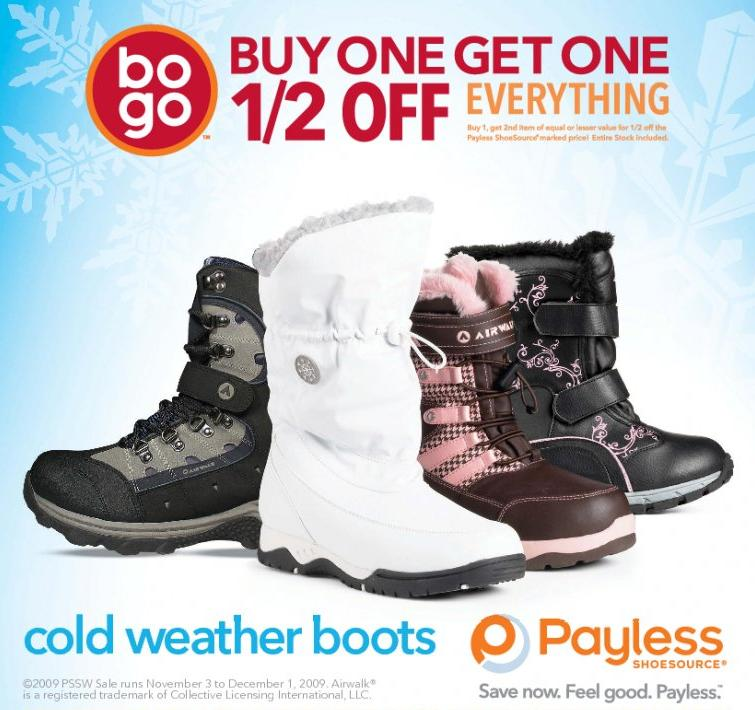 cfa8b513a28 Payless Shoes Canada: BOGO Sale | Canadian Freebies, Coupons, Deals ...