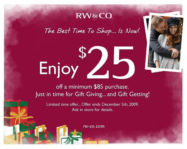 Rw co com coupons