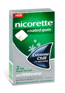 this time its for nicorette