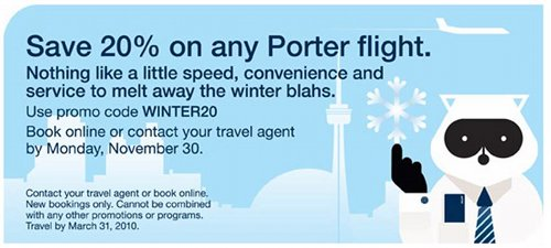 Porter airlines coupons 2018