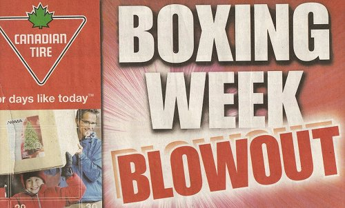 Canadian Tire Boxing Week Flyers Boxing Day