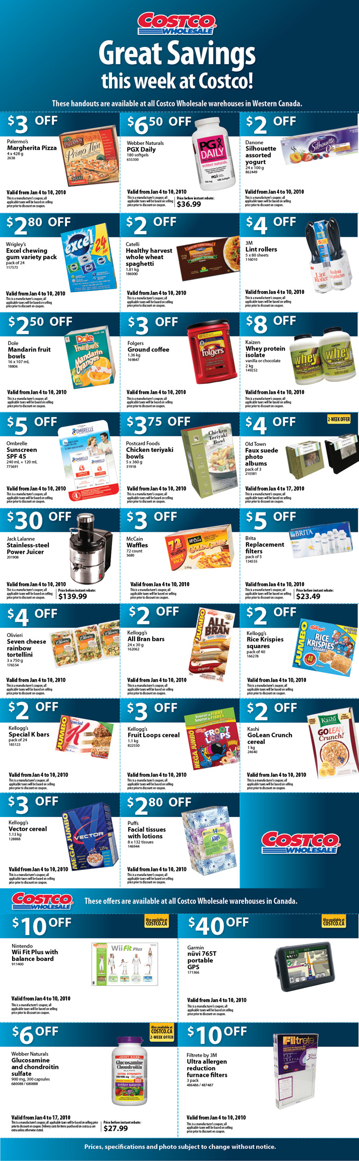 Costco coupons this week canada