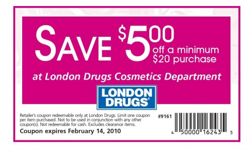 london drugs coupon stacking policy