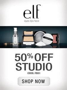 Elf coupon codes 50 off studio