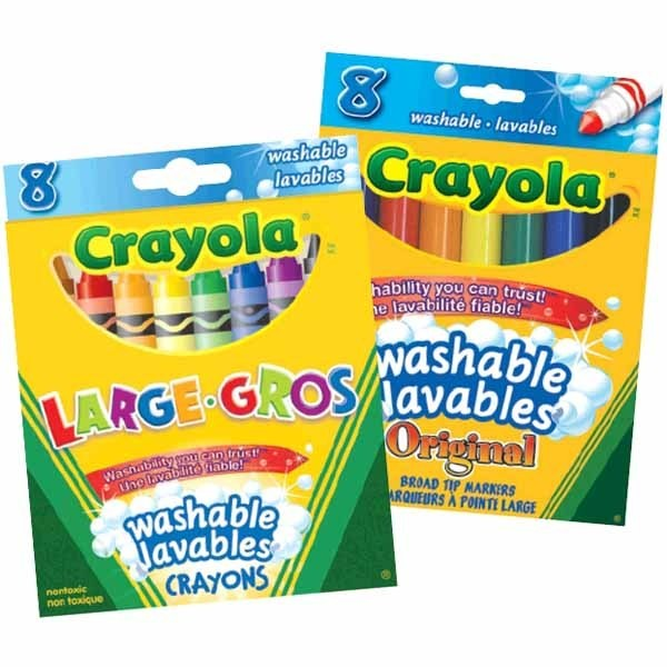 "This week at Toys ""R"" Us stock up on Crayola markers and crayons buy one get"