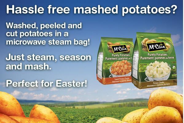 Mccain potatoes coupons