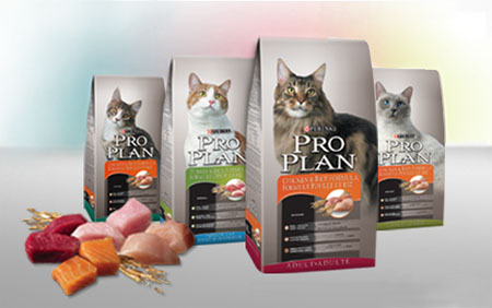 You can sign up for a free sample of Purina Pro Plan cat food of them.