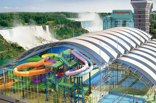 Fallsview Indoor Waterpark Niagara Falls Canada