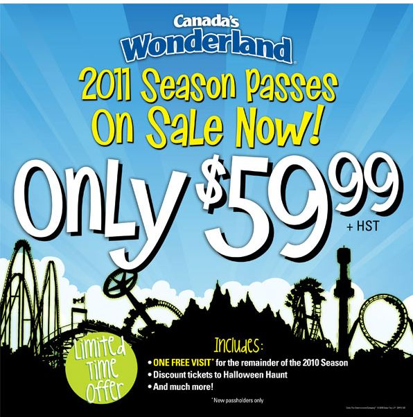 Book a Canada's Wonderland Vacation Package With all this fun, why not stay more than a day? Discover the best rates on accommodations close to the Park along with special discount ticket packages that make your entire trip even more affordable.
