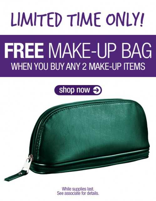 The Body Shop: Free Make-Up Bag with Purchase via Canadian Freebies,