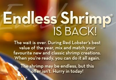 red lobster canada endless shrimp 2019