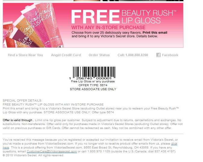 Victoria secret coupon codes shipping to canada