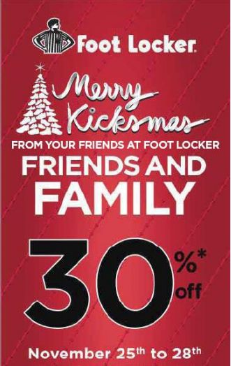Foot locker discount coupons