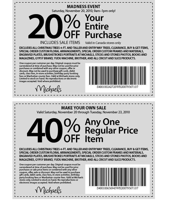 michaels coupon codes october 2017 get 70 off - Michaels Frames Coupons