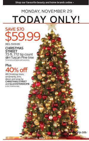 Coupons Christmas Tree