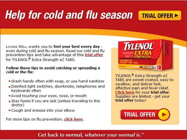 Ca: Tylenol Extra Strength EZ Tabs Sample *Live ...
