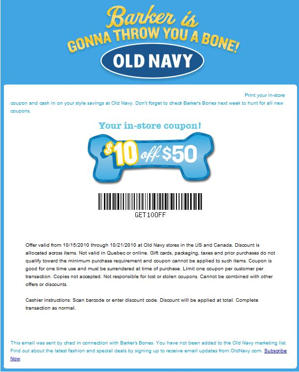 Old navy printable coupons 15 off
