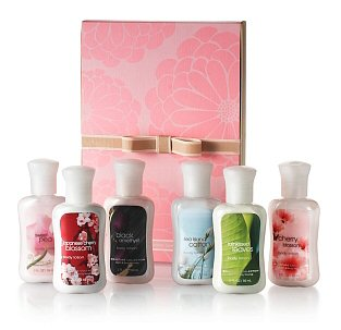 Bath amp body works free travel sized signature collection item with any