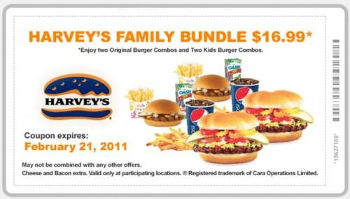 harveys family bundle